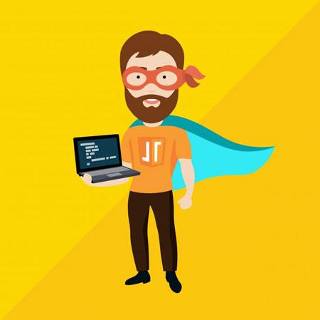 criar um site web