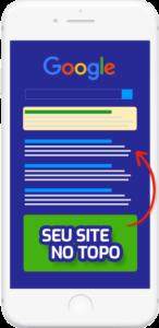 site no topo das buscas celular
